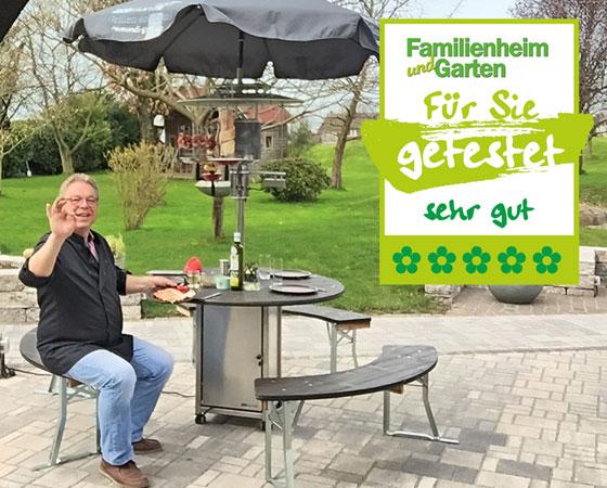 Familienheim und Garten Auszeichnung sehr gut